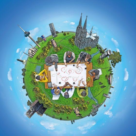 Veranstaltungsreihe // **Köln nachhaltig gestalten - vom guten Leben & von guten Ideen**