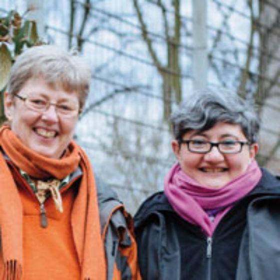 Susanne und Latifa
