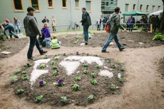 Dürfen wir vorstellen: Lieblingsplatz Nr. 1 im Veedel - der Garten der Welt!